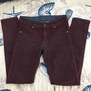 Carmar red skinny jeans